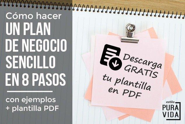 Qué es y para qué sirve un plan de negocios al emprender tu negocio. Incluye ejemplos y plantilla en PDF.